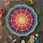 Rainbow Mandala Crochet Pattern