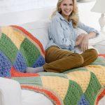 Sampler Throw Free Crochet Pattern