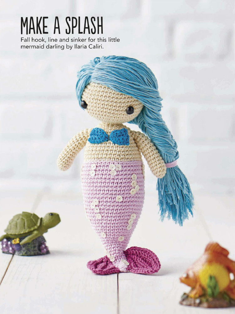 Little Amigurumi Mermaid Crochet