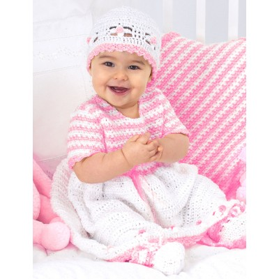 Sweet Baby Outfit Free Crochet Pattern Set