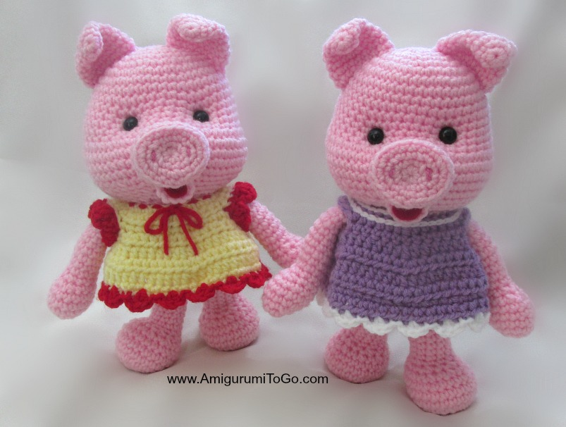 Crochet Along Pig Crochet Kingdom