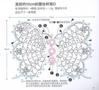 butterfly-crochet-motif-diagram