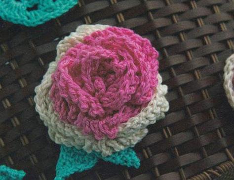 Free Crochet Pattern For Cabbage Rose : Free Crochet Flower Patterns ? Crochet Kingdom (85 free ...