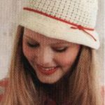 Cute Farm Girl Hat Crochet Pattern