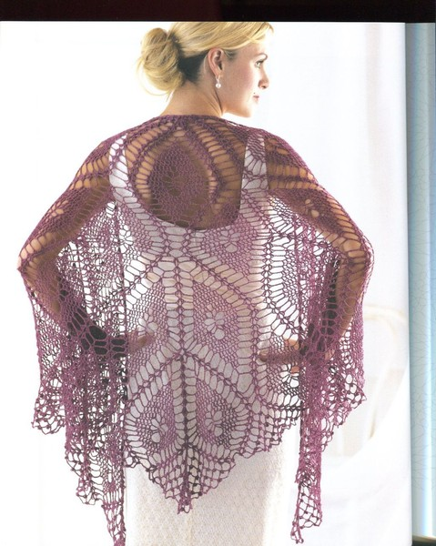 Fine Diamond Shawl Crochet Pattern Crochet Kingdom