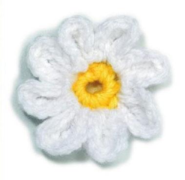 Little Daisy Crochet Flower Pattern Crochet Kingdom