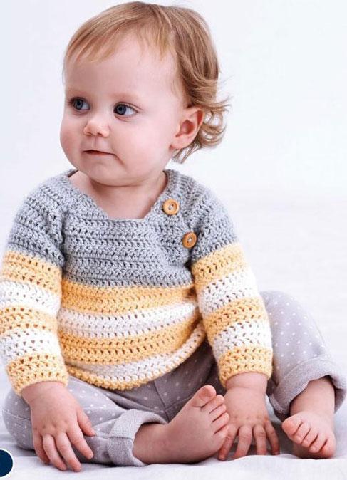Baby's Crochet Top Pattern