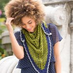 Light & Lacy Shawl Free Crochet Pattern