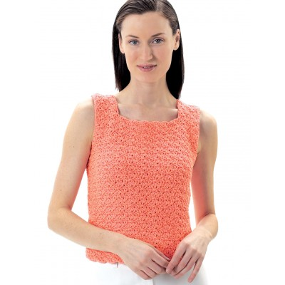 Lily Sugar N Cream Summer Top Free Crochet Pattern Crochet Kingdom