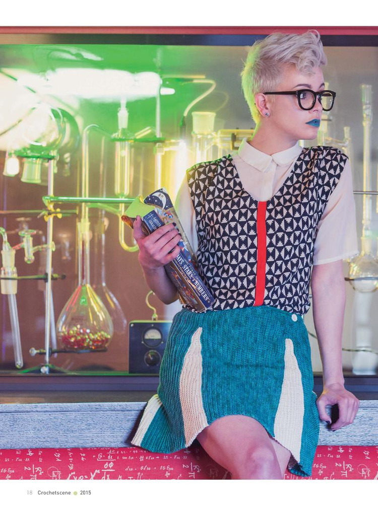 Riverbend Skirt Crochet Pattern