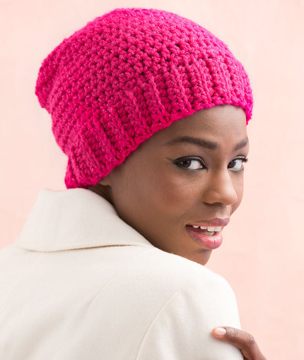Sparkling Cloche free crochet pattern