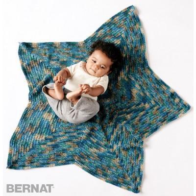 Starlight Free Baby Crochet Blanket