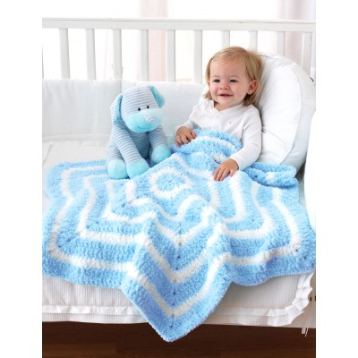 Two color star shapd baby crochet blanket free crochet pattern