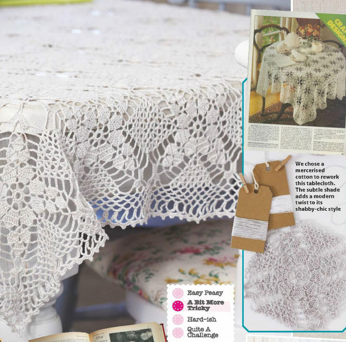 Free Crochet Oblong Tablecloth Patterns : Crochet Tablecloths ? Crochet Kingdom (18 free crochet ...
