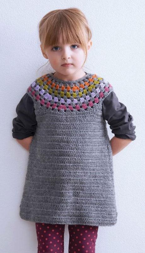 Kingdom Hearts Free Crochet Patterns : crochet-girls-dress ? Crochet Kingdom