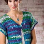 Golf coast shrug crochet pattern