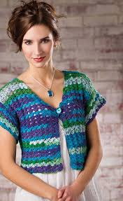 Golf coast shrug crochet pattern