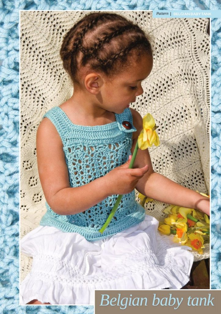 Lace Baby Tank Crochet Pattern Crochet Kingdom