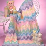 Rainbow Sherbet Baby crochet ripple stitch pattern