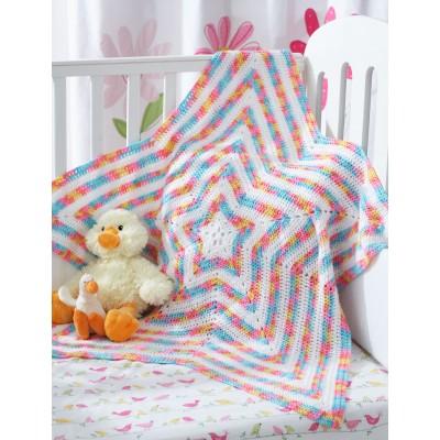 star baby blanket crochet