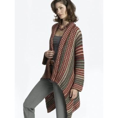 Asymmetrical Jacket Free Crochet Pattern
