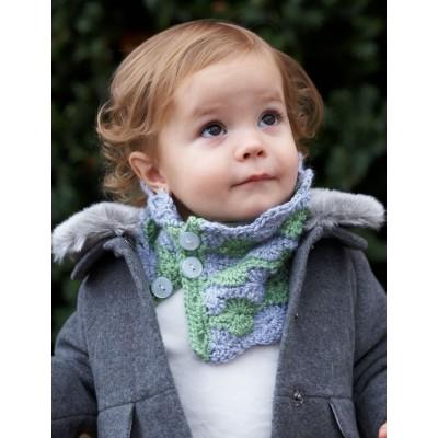Bernat Cozy Kid Cowl Free Crochet Pattern