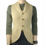Berroco Elliot Rounded Off Vest Free Crochet Pattern