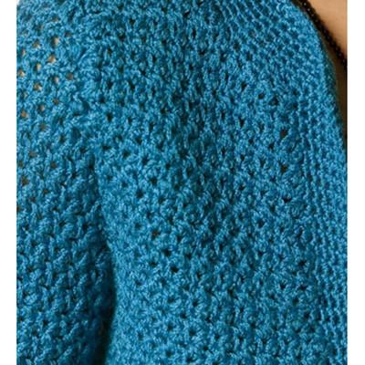 Berroco Twyla Free Crochet Cardigan Pattern 1