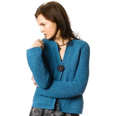 Berroco Twyla Free Crochet Cardigan Pattern