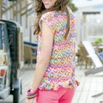 Birgit Summer Crochet Top Free Pattern