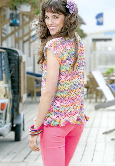 Birgit Summer Crochet Top Free Pattern Crochet Kingdom