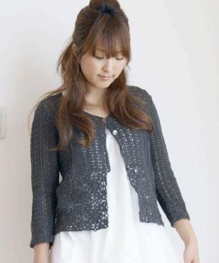 Cotton Smile Cardigan Free Crochet
