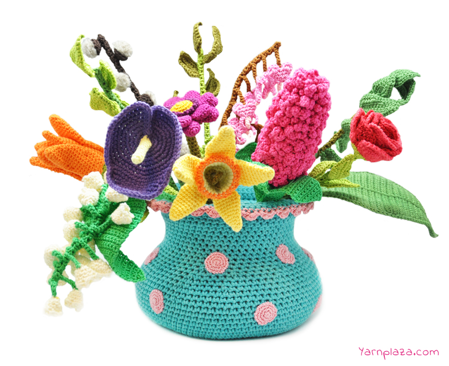 Amigurumi Flower Pattern Free : Free Crochet Flower Patterns ? Crochet Kingdom (88 free ...