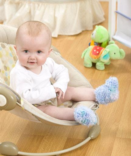 Crochet Cozy Baby Booties Free Pattern