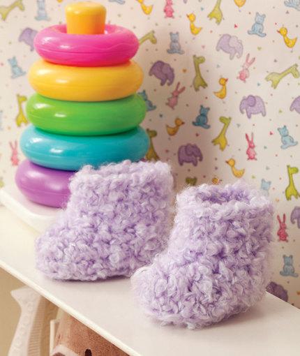 Cutie Booties Free Crochet Pattern