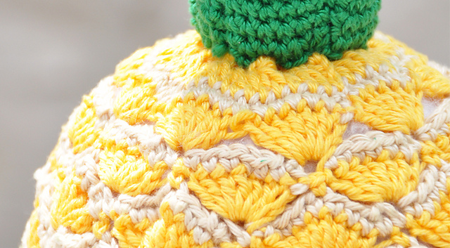 Free Crocheted Pineapple Pattern 1