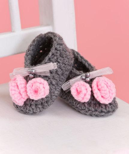Little Miss Booties Crochet Pattern for Free