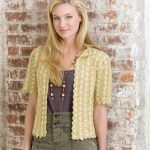 Manhattan Cardigan retro crochet pattern