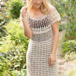 Natural Beauty Crochet Dress