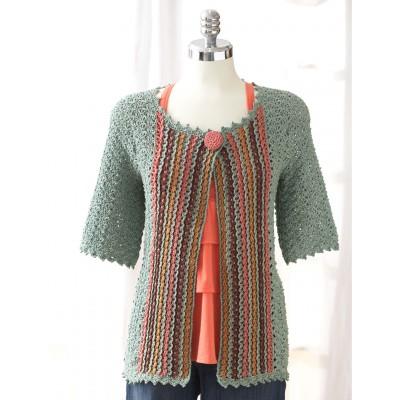 Patons Crochet Jacket Intermediate Crochet Pattern
