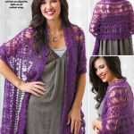 Purple Haze Wrap Free Crochet Pattern