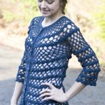 Shade Carolina Free Crochet Cardigan Pattern