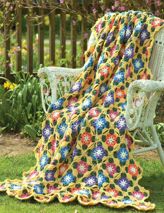 Sunny-Day-Flowers-Free-Crochet-Pattern