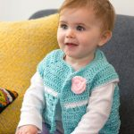 Sweet Abby's Baby Sweater Free Crochet Pattern
