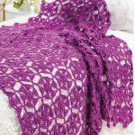 Freesia crochet bedding free pattern