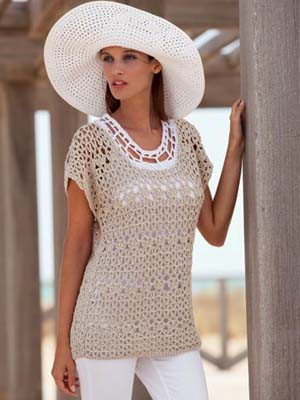 Alabama Summer Crochet Top Free Patern