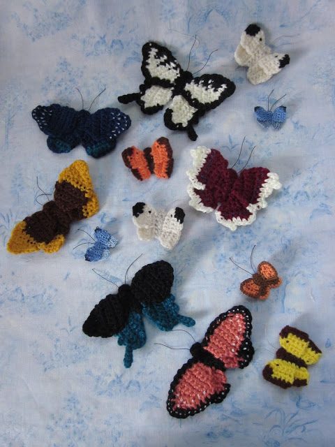 Beautiful Free Crochet Butterflies Pattern