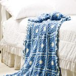Blue Skies Throw Free Crochet Pattern