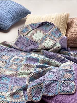 Bombay Blanket Free Crochet Pattern