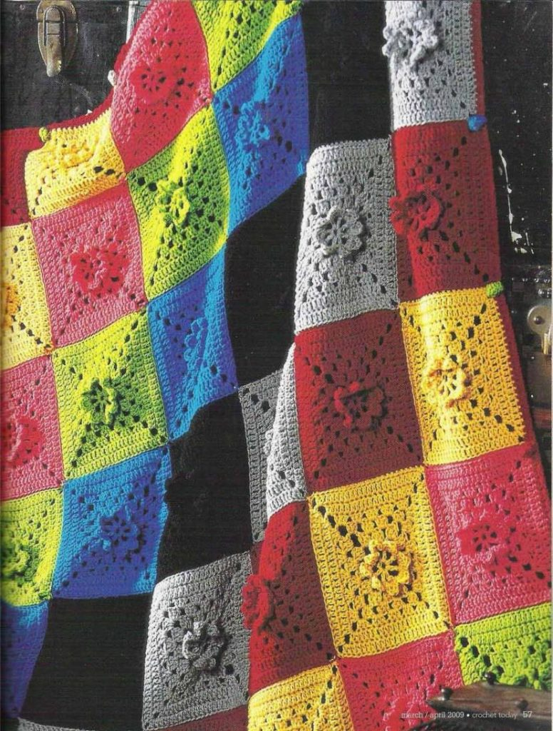 box-flower-crochet-blanket-pattern